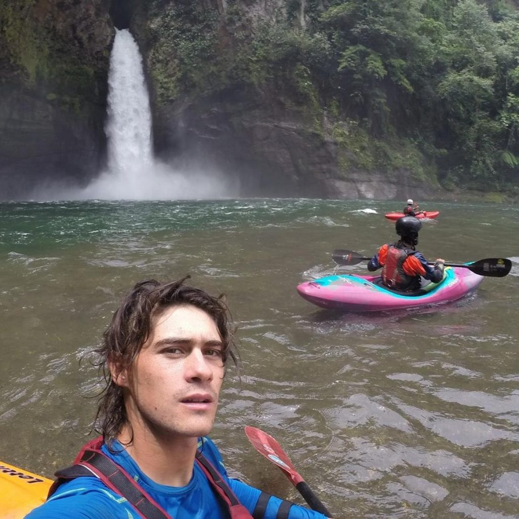 Our rafting guide Diego