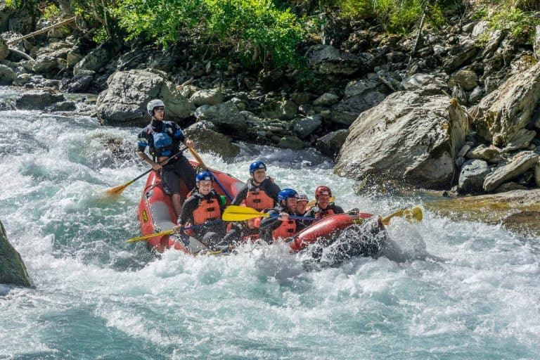 Whitewater Action river rafting tour